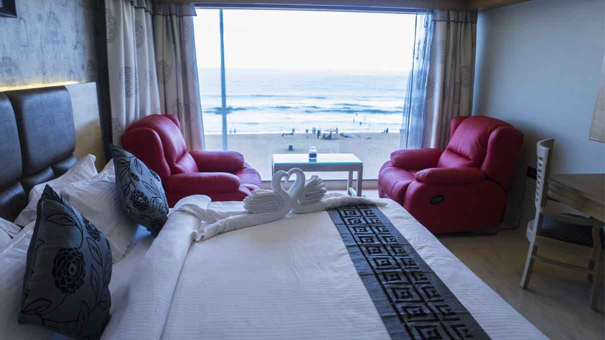 Sea Facing Room Puri