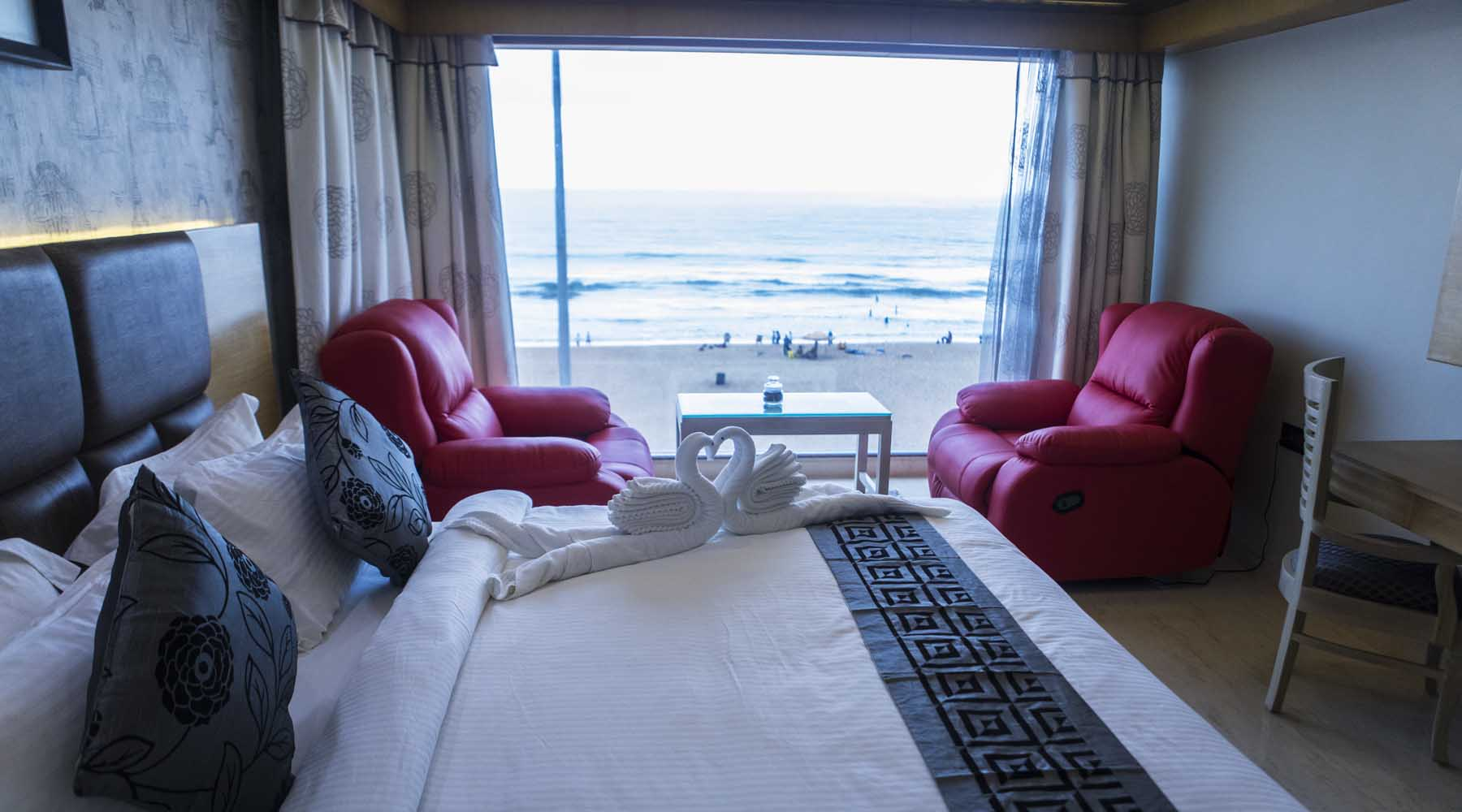 best sea beach hotels in Puri